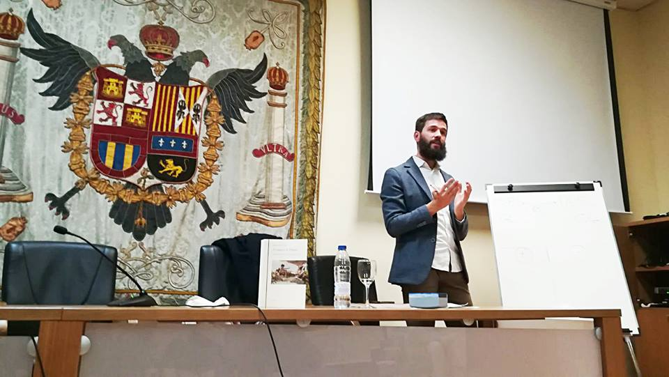 """Presentazione de """"Il Conquisto"""" all'Università di Granada"""