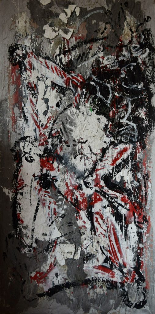 amazing international artists B#Side War Festival, Rome, abstract paintings