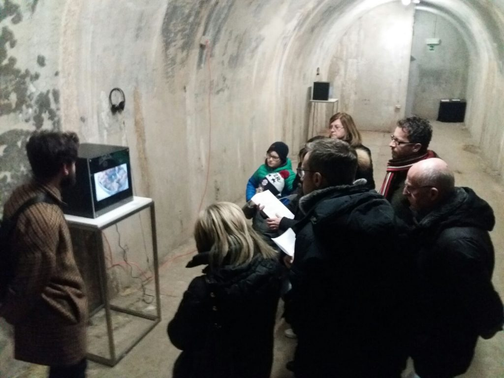top Italian curators, B#Sida War, IoDeposito, B#S, Chiara Isadora Artico, art in the bunker