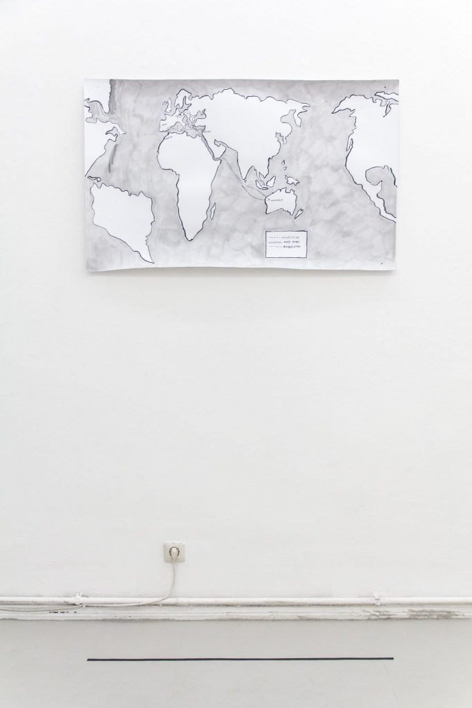 Dan Allon has been curated by Bonami today curated by Chiara Isadora Artico
